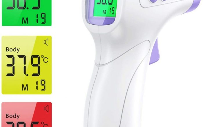comparatif thermometre frontal